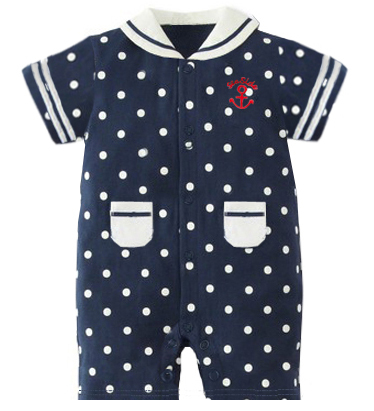 Brand New Hot Sale Baby Boys Clothes Suit Short Sleeve Sailor Sets Free Shipping Childrens Tracksuits