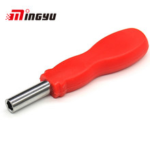 Clean Inventory 1/4 6.3MM Non-slip Multi-function Magnetic Carbon Steel Handle A little Rusty Has No Effect On Function(China)