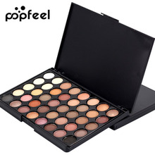 Women Professional Make Up 40 Earth Colors Matte Pigment Eyeshadow Palette Cosmetic Makeup Eye Shadow