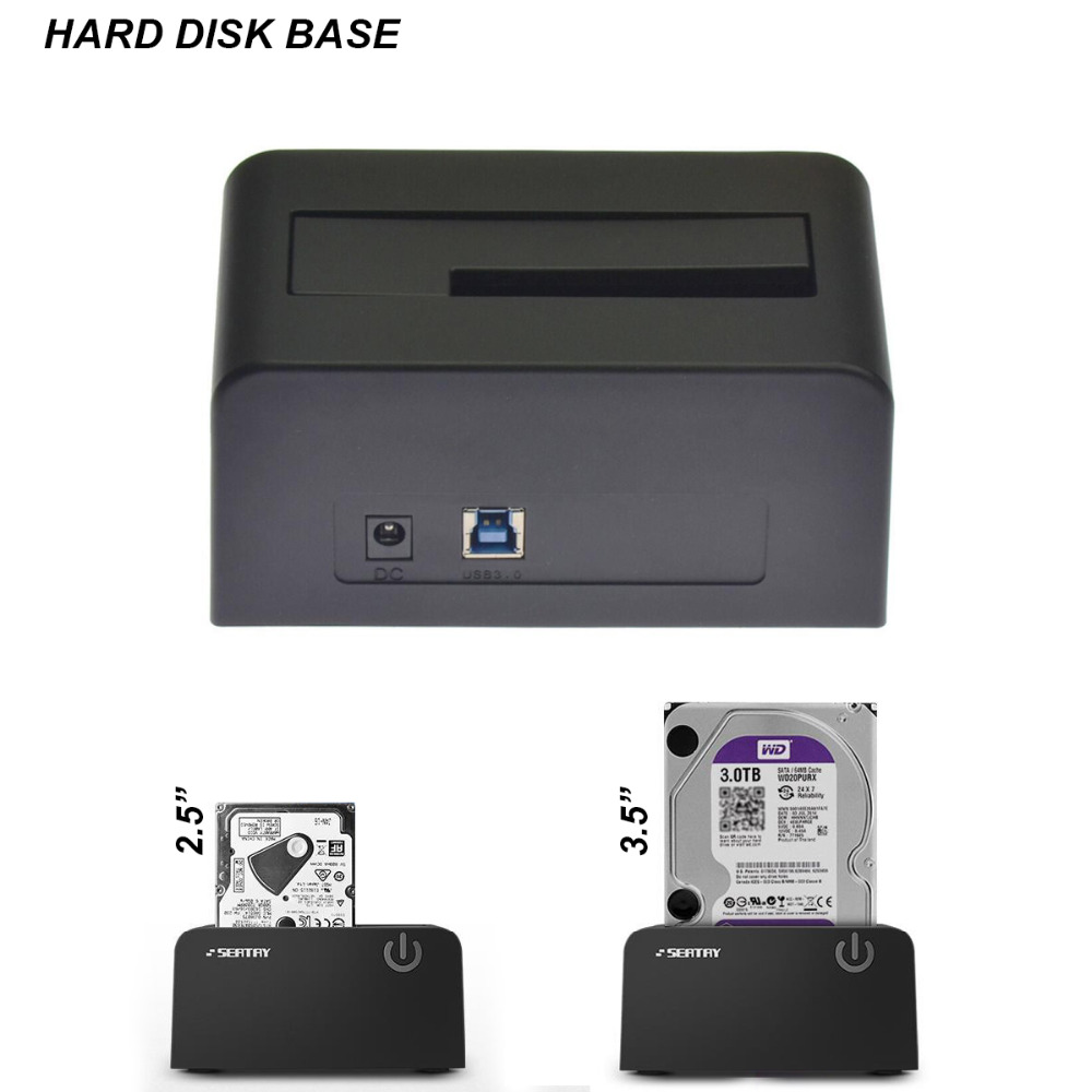 Brand New USB 3.0 to SATA Hard Drive Base HDD Docking Station for 2.5 Inch & 3.5 Inch HDD SSD 8TB Support SATA 1 2 потребительские товары brand new 1 usb 2