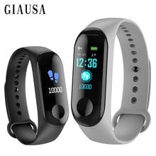 Купить с кэшбэком W 3 Smart Watch Waterproof Fitness Bracelet Blood Pressure Heart Rate Monitor band Bluetooth Push for Xiao mi IOS Android Phone