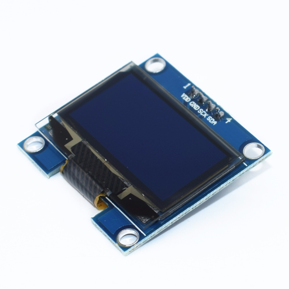 10PCS 1 3 OLED module white Blue color 128X64 1 3 inch OLED LCD LED Display