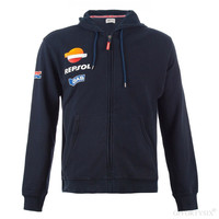 b82511933a Moto GP Motorcycle Repsol Hoodies For Honda HRC Endurance Racing Riding Zip  Up Sweatshirt Jacket