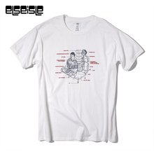 FM3 Artists Cooperative Tshirt screen printing T shirt Chinese Techno great band men elseisle brand 100% cotton mens t-shirt