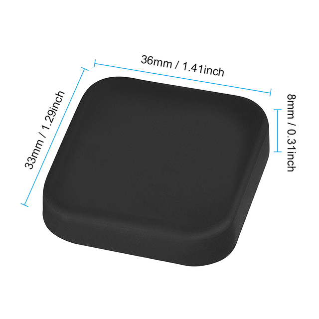 3PCS Lens Cap For GoPro Hero 5 6 7 Black Lens Cover Silicone Protector Case For Go pro Hero 7 6 5 Black Camera Accessories