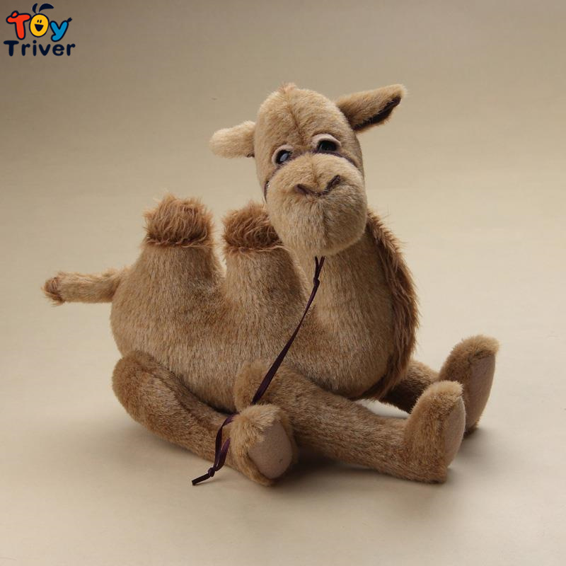 Top qualité à la main arabes ours en peluche Camel en peluche peluche poupée désert ours poupée cadeau d'anniversaire maison boutique décor - 6