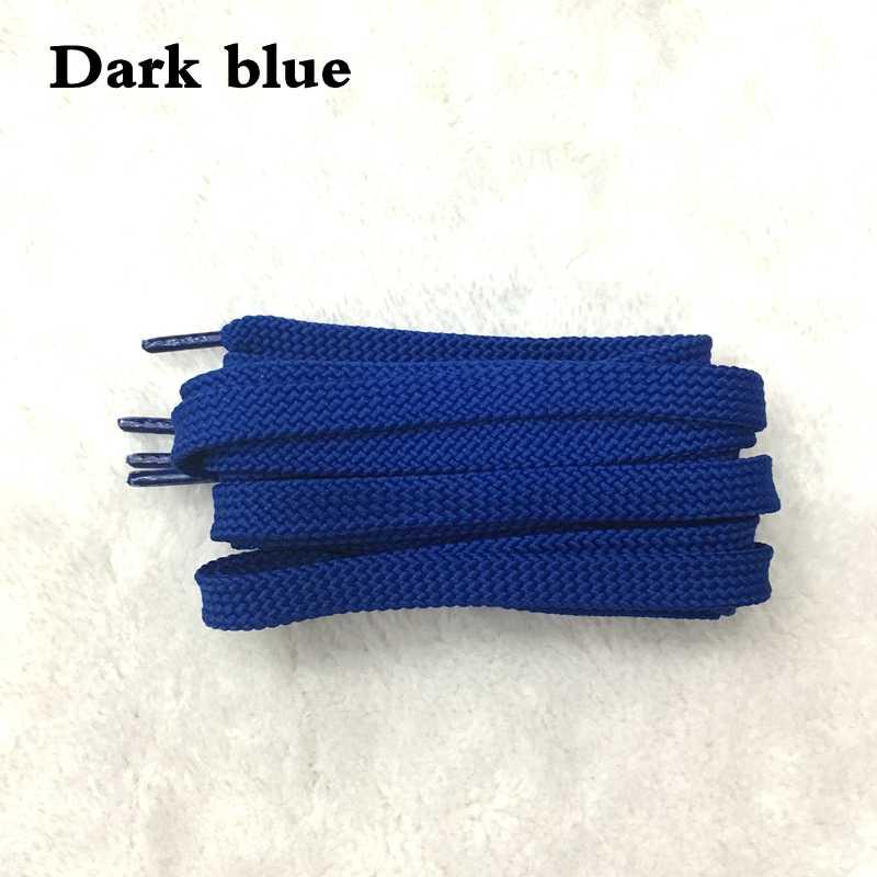 1 пара классические двойные плоские шнурки сплошной цвет полые плетеные кроссовки обувь шнурки для мужчин женские шнурки 26 цветов SB1