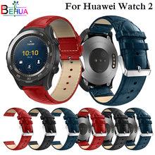 Genuine Replacement Leather Watch Band For Huawei Watch 2 Smart Watch Strap Band for Huawei 2 watch Straps Bracelet Correa Reloj все цены