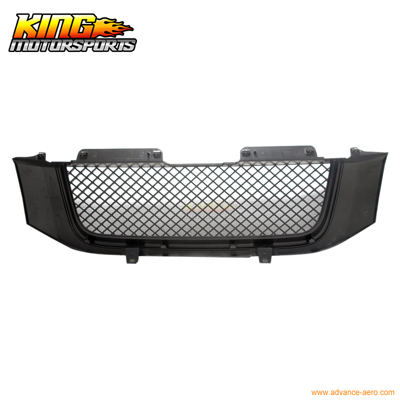 For 2002-2008 GMC Envoy Black Honeycomb Mesh Hood Grille Grill USA Domestic Free Shipping Hot Selling for 07 09 toyota tundra chrome mesh grill grille brand new 2007 2008 2009 usa domestic free shipping hot selling