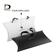 Ручная работа Свадебные сувениры Заказная металлическая наклейка с логотипом с подушкой 30x20x6 см для подарка Специальные уникальные украшения для подушки