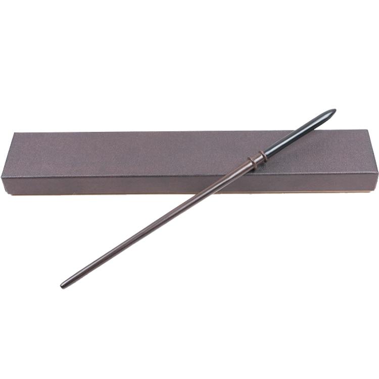 Най-новите метални ядра Най-новите качествени луксозни Хари Потър COS Драко Малфой магически пръчици / стик с опаковка кутия за подаръци