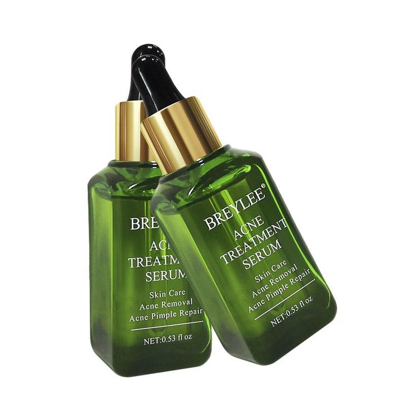 BREYLEE Acne Treatment Facial Serum Essence Anti Acne Scar Removal Cream Face Skin Care Whitening Repair Pimple Remover For Acne
