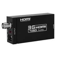 New MINI 3G HDMI to SDI Converter Adapter BNC SDI/HD SDI/3G SDI HD 1080P Video Converter 2.970 Gbit/s Free Shipping