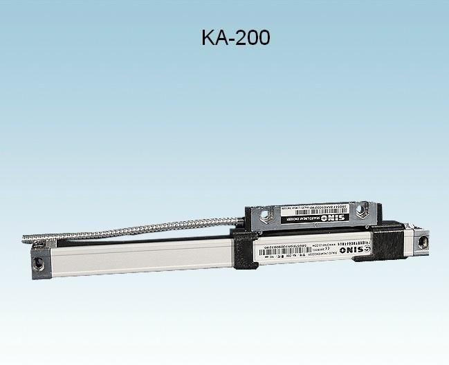 Livraison gratuite Sino KA200 30mm-360mm longueur de voyage échelle mince 16mm x 16mm Sino KA-200 échelle linéaire mince