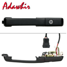 FOR VW PASSAT B3 88-93 OUTER RIGHT FRONT DOOR HANDLE CENTRAL LOCK W/ KEYS 357837208A 357837206A 357837206AS цены