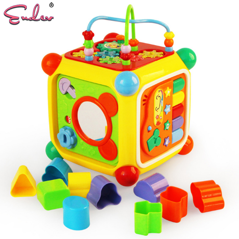 Endev Multifunctional Musical Toys Colorful Fun House ...