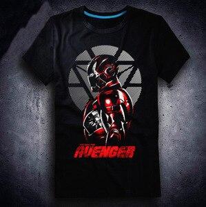 Новинка 2020, футболка с героями фильма «Мстители 3 бесконечные войны», футболки с героями аниме «Железный человек Локи», модные футболки с ге...
