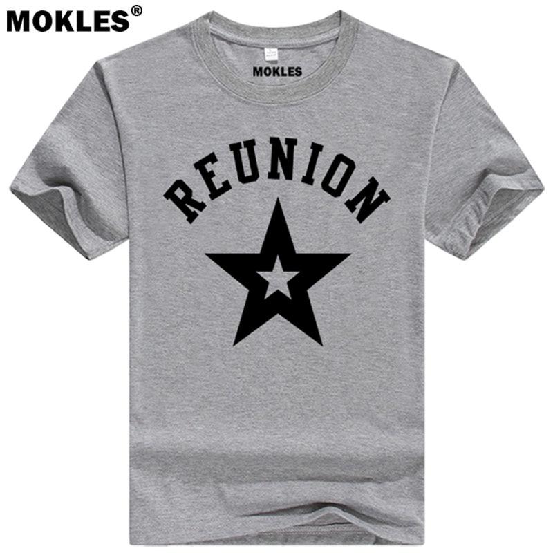 REUNION t shirt diy free font b custom b font font b made b font name