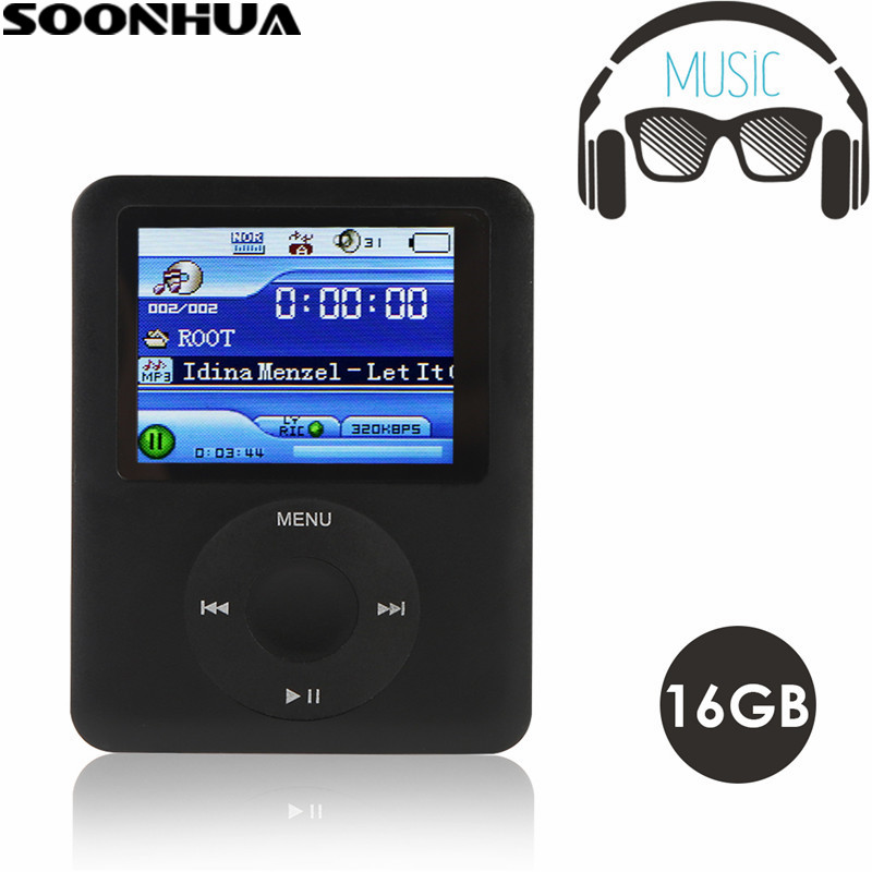 Mp4 Player Aktiv Soonhua Neue Ankunft 16 Gb Mini Mp3 Mp4 Player 1,8 Zoll Bildschirm Tragbare Musik Media Fm Radio Video Player Mit Spiel E-book-player Unterhaltungselektronik