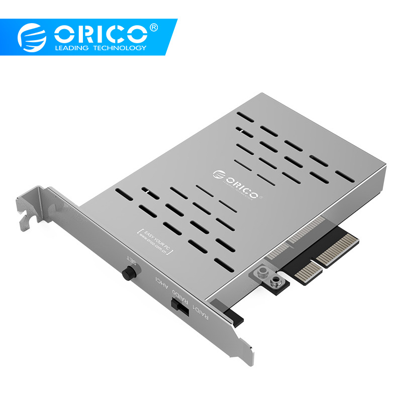 ORICO PCl E M 2 SSD Card Desktop Disk Array Card PCI E M 2 SSD