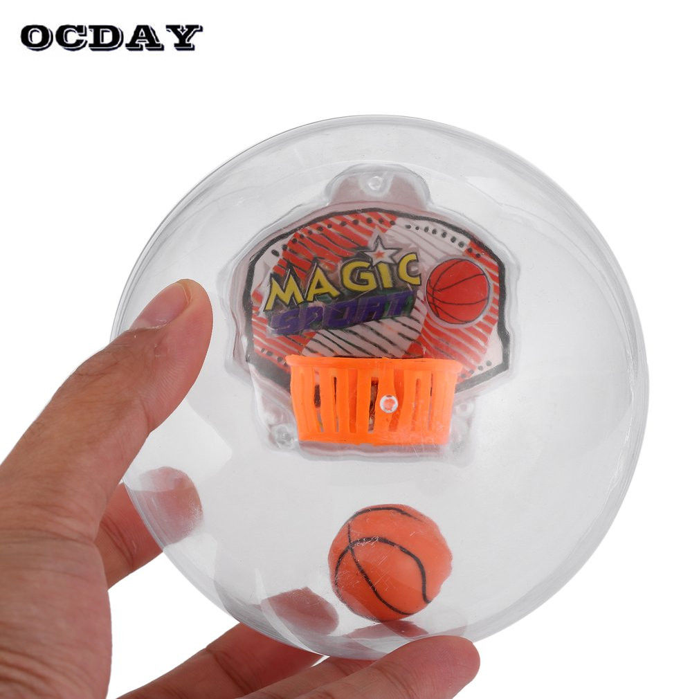 OCDAY LED Portable Handheld Electronic Basketball Game Hoops Rocking Game with Light & Sounds toys gift for kid Anti Stress Toys