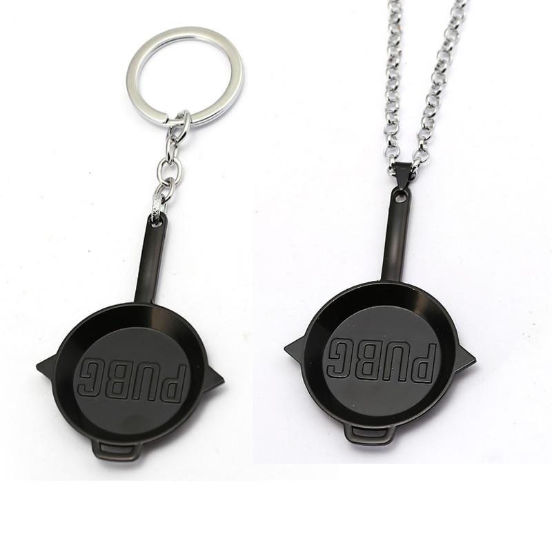 Game Playerunknowns Battlegrounds PUBG Keychain Metal Black Pens Key Chain Ring Jewelry Chaveiro For Men Souvenir Porte Clef