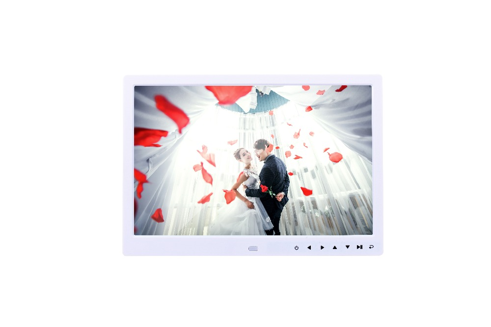 Volemer new Digital Frame 13 inch high definition Touch button electronic photo album video advertising machine digital brochure (18)