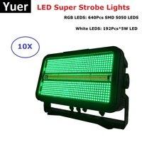 Super LED Strobe Lights 1400W LED Flashlights RGB LED Strobe Lights Stage Dj Laser Projector Club Bar Party Lighting Equipments