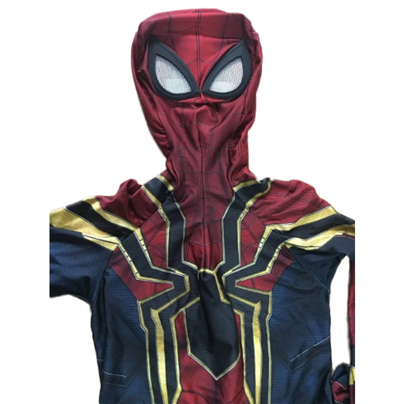 High Quality Spider-Man Homecoming Costume Cosplay Adult Superhero Iron Spiderman Cosplay Costume Outfit Halloween Carnival