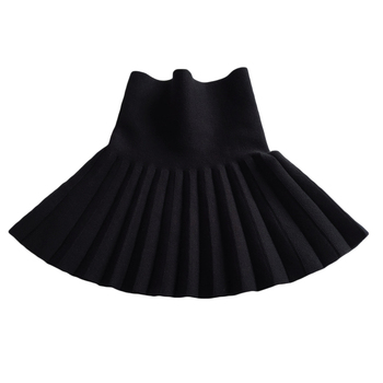 Baby Girl's Casual Pleated Mini Skirt 2