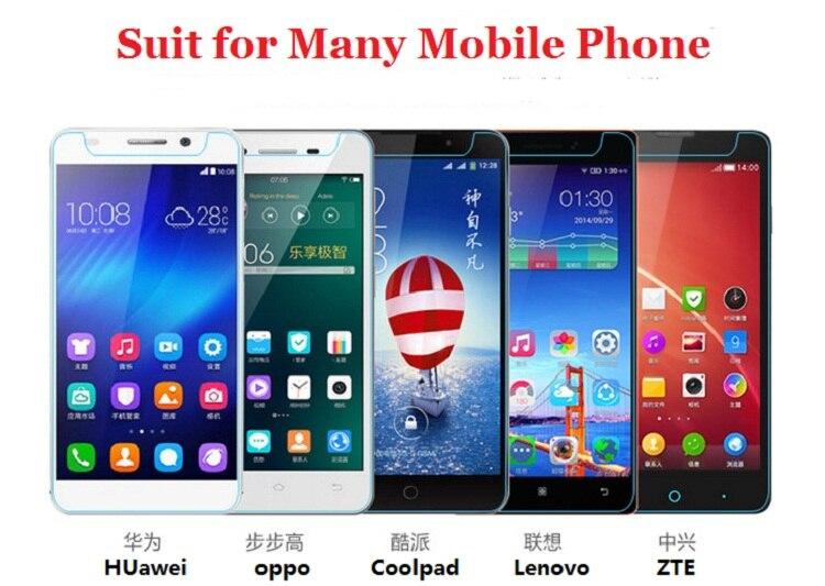9 H 2.5D 0.3 мм Универсальный закаленное Стекло Экран протектор Плёнки для 4.0 4.5 4.7 5.0 5.3 5.5 дюймов Мобильные телефоны + Тематические товары про репт...