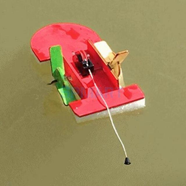 DIY Wooden Pull Back Boat Model Building Kits Intellectual Development Educational Toy Preschool Toys Handcraft