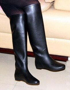 new women over the knee style black fashion rainboots rain