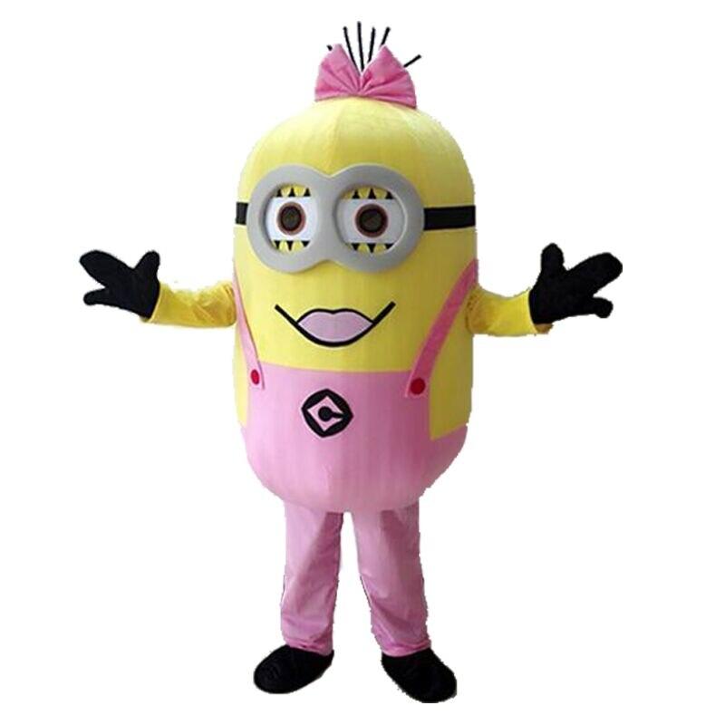 2017 nouvelle arrivée minion mascotte Costume adulte personnage Costume Cosplay mascotte Costume livraison gratuite