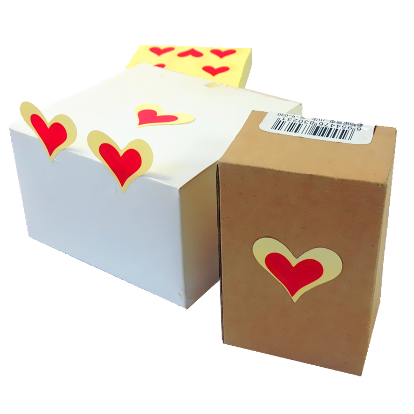 90Pcs lot Red Love Seal Sticker Sealing Label Sticker Package Stickers For Gift And Express Love To Your Lover in Stickers from Home Garden