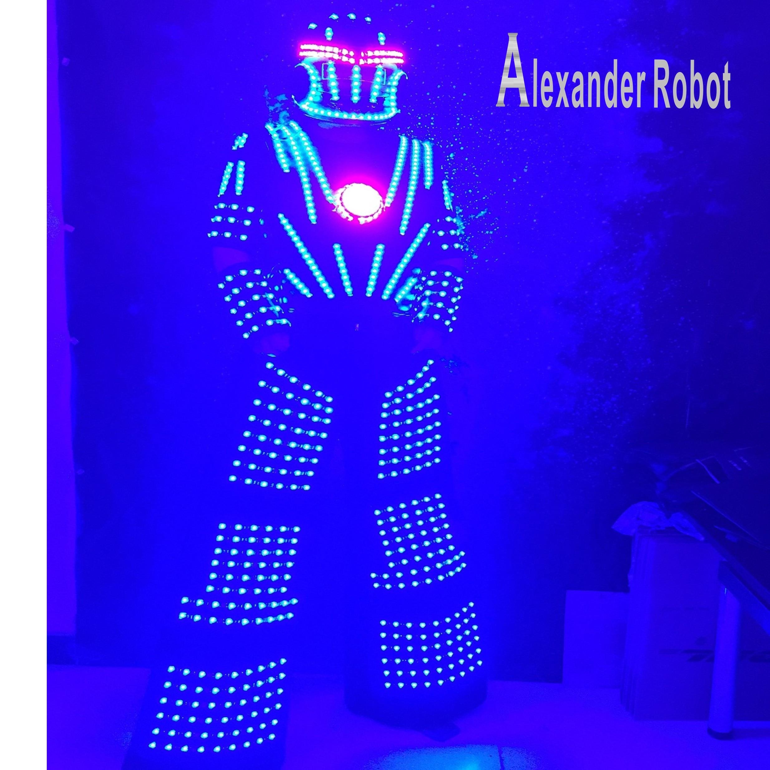 Costume de LED/vêtements de LED/costumes légers/costumes de Robot de LED/costumes de lumières de robot/LED