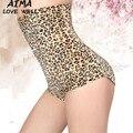 Сексуальные Женщины Body Shaper Послеродовая Leopard зерна Shapewear Корсет Бесшовные Трусы Underwear Брюки Шорты Похудения Cincher Трусы
