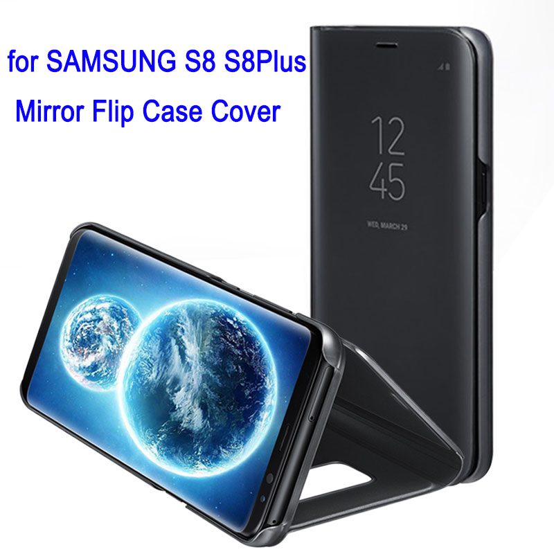 for Samsung Galaxy S8 S 8 Plus Mirror Flip Case Cover 360 Cute Shockproof Leather Armor Luxury Smart Clear View Standin Originalfor Samsung Galaxy S8 S 8 Plus Mirror Flip Case Cover 360 Cute Shockproof Leather Armor Luxury Smart Clear View Standin Original