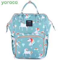 Mommy Bag For Baby Care Cartoon Pattern Maternity Bag For Cart Large Capacity Travel Backpack Mom Nappy Diaper Bag For Stroller