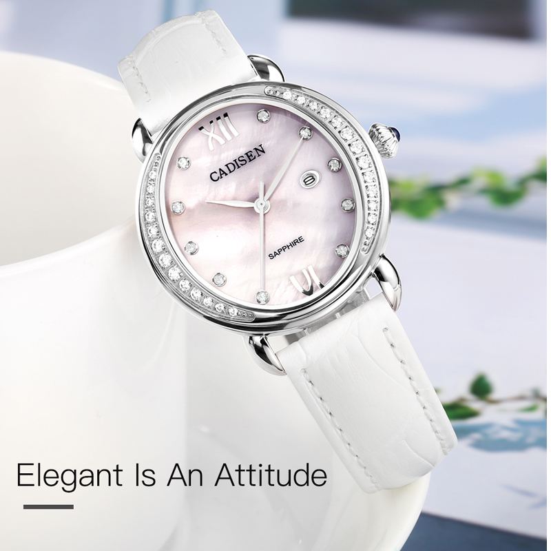 CADISEN Top Brand 2018 Luxury ladies casual Watch Gold Diamond Quartz Watches Fashion Rhinestone Clock Women Relogio Feminino duoya fashion luxury women gold watches casual bracelet wristwatch fabric rhinestone strap quartz ladies wrist watch clock