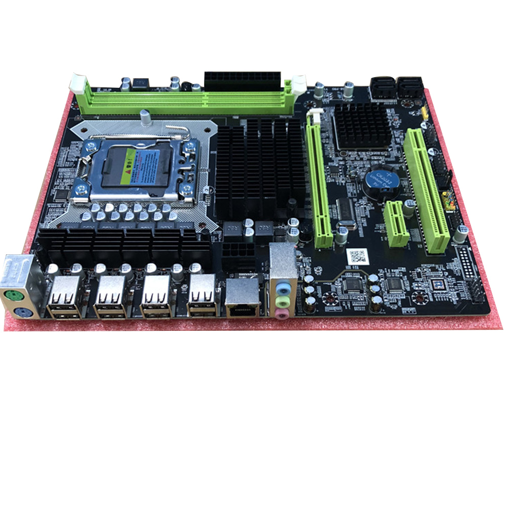 Worldwide delivery lga 1366 motherboard 2 cpu in NaBaRa Online