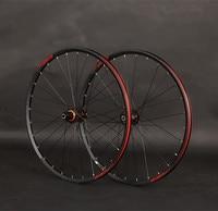 JKLapin Mountain Bike 26inch Carbon Fiber Wheels Sealed Bearing Wheelset 27.5 29inch Alloy Rim QR/Thru axis