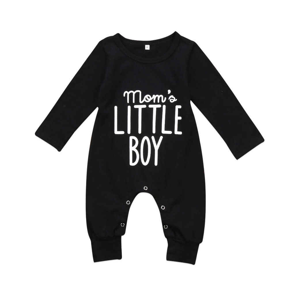 d6229aa977a Newborn Infant Baby Boy Long Sleeve Cotton Rompers Jumpsuit Casual Warm  Autumn Winter Cute Outfit Clothes