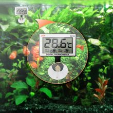 LCD Digital Aquarium Thermometer Fish Tank Submersible Water Electronic Temperature Meter Waterproof Measure Temp Meter Tools