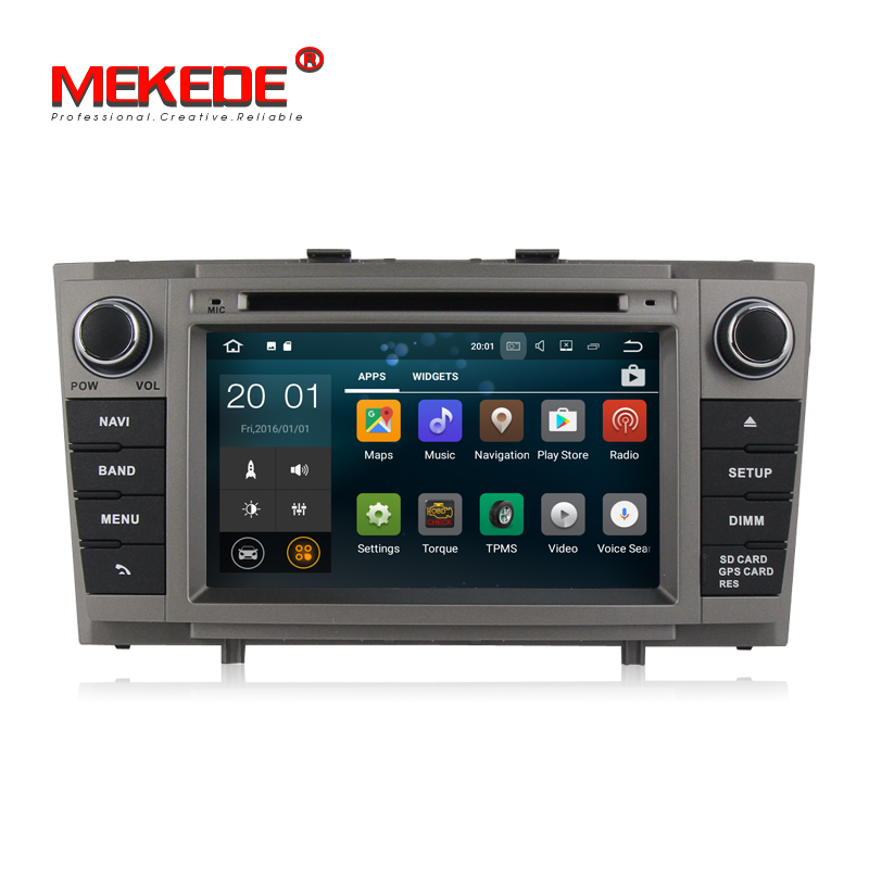 7 android 7 1 car stereo for toyota avensis t27 new 2009. Black Bedroom Furniture Sets. Home Design Ideas