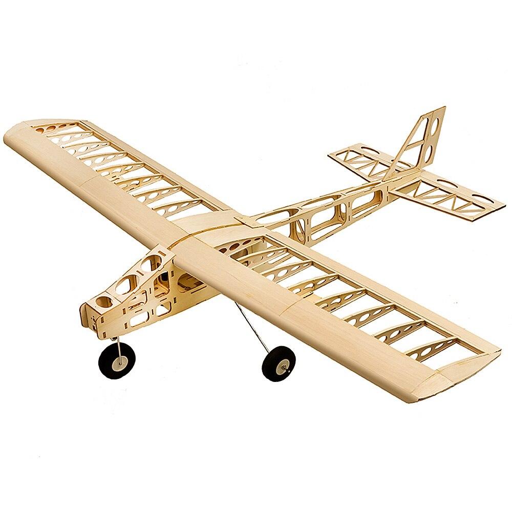 T2501 EP Training RC Plane Balsa Wood 1.3m Wingspan Biplane RC Airplane Toy KIT RC Aircraft For Kids