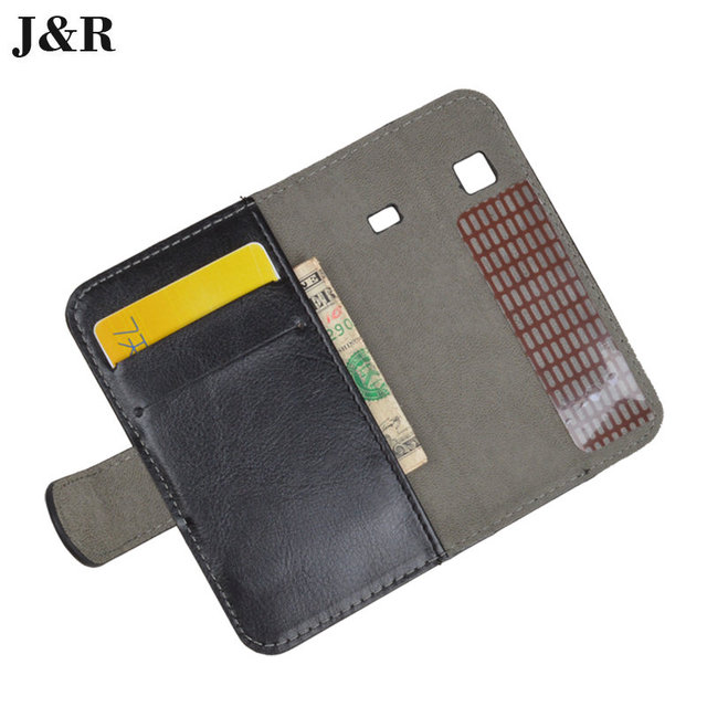 PU Leather Book Case For Samsung Galaxy Gio S5660 Gt-S5660 Cover Flip With Stand Design Card Slots Luxury Phone Back Cover