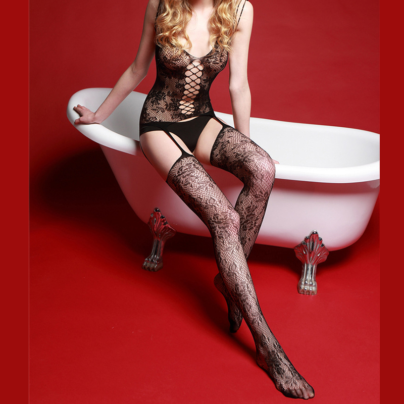 Sexy black women in stockings