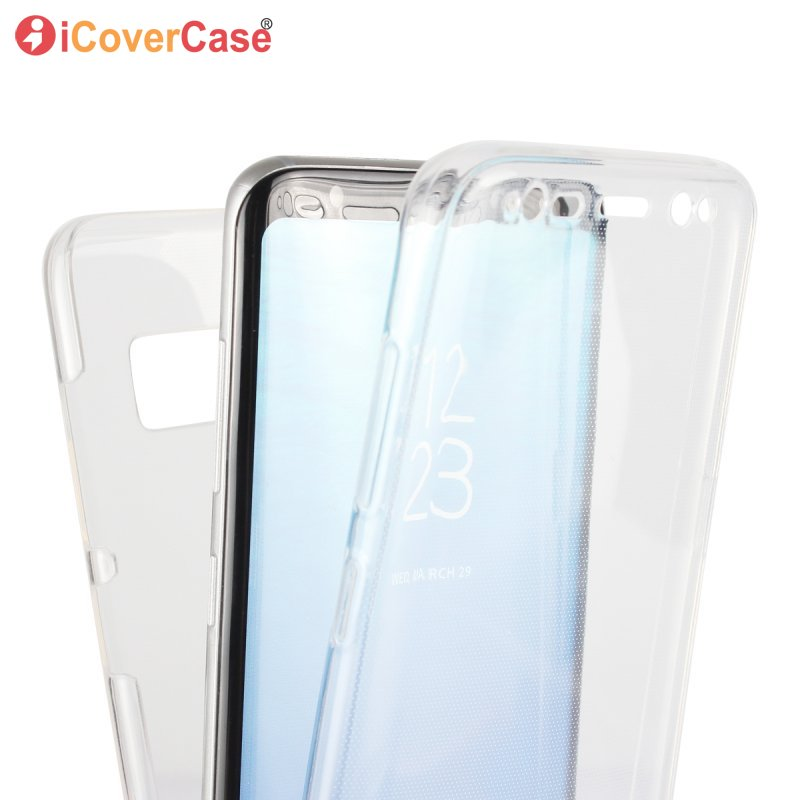 For Samsung Galaxy S8 Plus Case Silicon Front Back Cover Gel Full Body Capinha Etui Coque Capa For Galaxy S8Plus Hoesje Carcasas