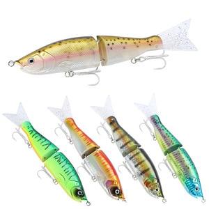 Image 4 - Leurre rigide de qualité supérieure pour la pêche à la traine au japon, grand appât artificiel avec queue souple, hameçon BKK, mousqueton, 165mm, 55g